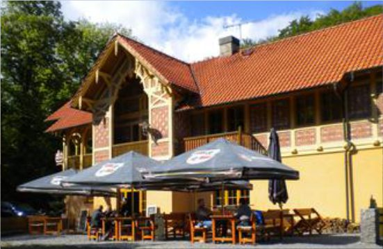 Forsthaus in Drmaly
